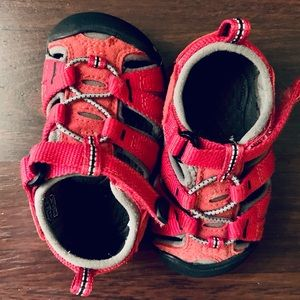 Keen Red Toddler Sandals